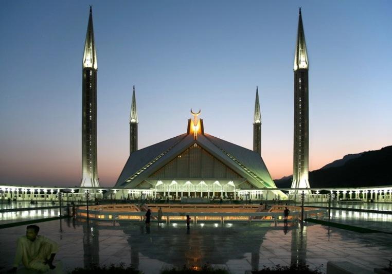 Мечеть Фейсал в Исламабаде